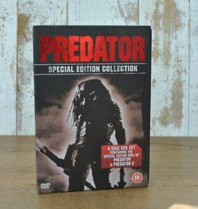 Predator 1 & 2 Special 4 disc edition DVD box set