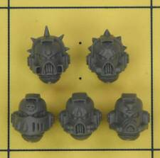 Warhammer 40K Space Marines Blood Angels Death Company Helmets