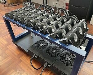 GPU Mount | 45 Degree GPU  mount for Stackable Mining Rigs|GPU Cooling Mount