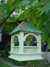 Wildlife World Bempton Bird Table - verdigris roof, feeder tray
