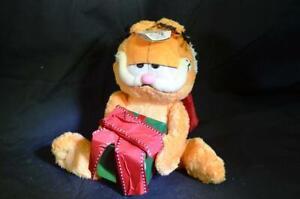 TY Beanie Babe Happy Holiday Garfield Vintage Plush Toy Cuddly Stuffed Animal