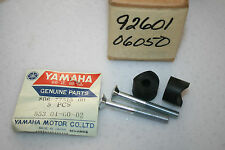 NOS Yamaha snowmobile rear bumper screws and bushings gp sl ew sw tw 292 338 433