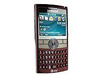 Samsung BlackJack II SGH-I617 - Red (AT&T) Smartphone