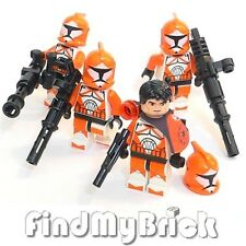 SW148 II x4 Lego Star Wars 4x Bomb Squad Trooper Minifigures 7913 NEW
