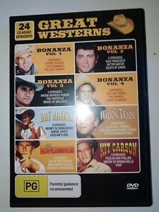Great Westerns - 24 Classic Episodes DVD excellent condition