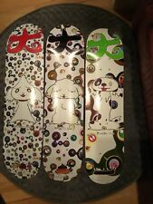 Supreme Takashi Murakami  Skate board Decks  Set of 3