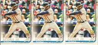 2019 Topps Series 1 Ronald Acuna Jr. Rookie Cup Atlanta Braves #1 Lot x 3