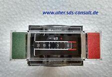 UHER 1012093 012093 Anzeigeinstrument / VU meter SG 560 Royal Royal de Luxe NOS