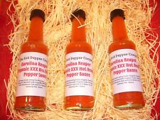 Organic Carolina Reaper XXX Hot Chilli Sauce - The Hot Pepper Company