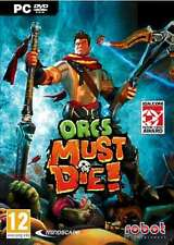 """Orcs Must Die (PC DVD) """"BRAND NEW AND FACTORY SEALED"""""""
