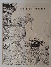 GIRAUD  **  BLUEBERRY 26. GERONIMO L'APACHE **  TIRAGE LUXE. N & B. 30 x 40 CM