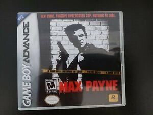 Nintendo Gameboy Advance Max Payne Genuine Cart.