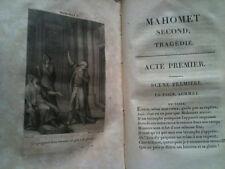 REPERTOIRE DU THEATRE FRANÇOIS - BEAUX EX-LIBRIS - 22 GRAVURES 1803 /MAHOMET etc