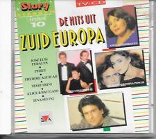 V/A - De Hits uit Zuid-Europa CD Album 16TR (EVA) 1991 Tina Selini Patty Pravo