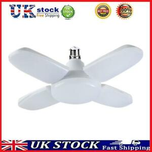 60W B22 Deformable LED Garage Light Adjustable Ceiling Lamp (Cold White) T#K