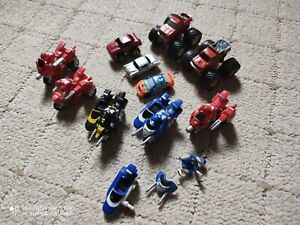 micro machines job lot Monster trucks and Power Rangers