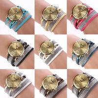 Geneva Fashion Women Watch Crystal Bracelet Bracelet Analog Quartz Wrist watches