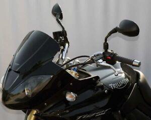 Scheibe MRA-Verkleidungsscheibe Triumph Tiger 1050, 07-08-, schwarz Sportform