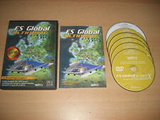 FS GLOBAL ULTIMATE Europe Africa Pc DVD Rom Add-On Flight Simulator Sim X FSX