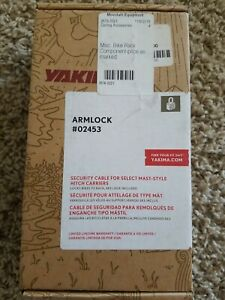 New YAKIMA  ARMLOCK SECURITY CABLE # 02453 Free shipping