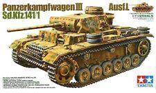 Tamiya 1:35 German Pz.Kpfw III Ausf Plastic Model Kit 35215 TAM35215