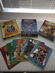 TSR MARVEL SUPER HEROES MEGA LOT! All Three Boxsets! Modules! Most Complete!