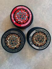 Operation Enduring Clusterf-ck virus - 19 embroidered patch historical time