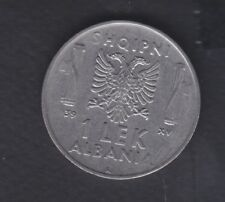 1939, Albania. Albanian 1 Leke. Italy Italian Occupation Coins. 1102