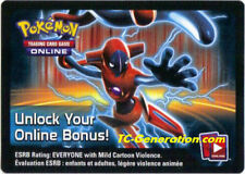Deoxys EX BW82 Fall 2013 Unused Pokemon Online Booster Codes Emailed