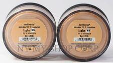 Bare Minerals Escentuals SPF 15 Original Foundation Light W15 8g XL - PACK OF 2