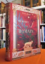 MEMOIRES D'UN ROMAIN, Vie privée de l'Ancienne Rome.- Cartonnage polychrome