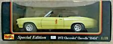 Maisto 1972 Chevrolet Chevelle SS 454 Convertible  Special Edition 1:18 Diecast
