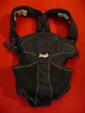 Evenflo Snugli Comfort Vent Carrier, Navy Blue, Pocketed - No Box