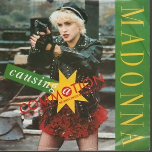 """Madonna Causing A Commotion 45T 7"""" 45 Tours SP Germany"""
