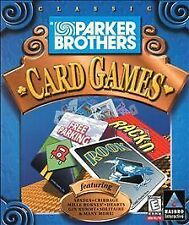 Parker Brothers Classic Card Games (PC, 1999)