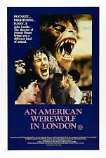 An American Werewolf in London Movie Horror 1981 Poster Print Home Decor
