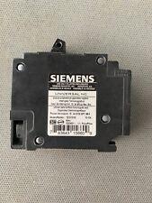 SIEMENS Q1515NC 15 AMP 120/ 240 VOLT TANDEM BREAKER Dual New