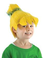 TINKERBELL FABRIC FAIRY YELLOW WIG COSTUME DRESS ELLU3201 NEW