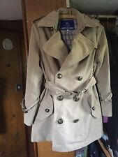 BURBERRY blue Label Trench Coat Taille 8
