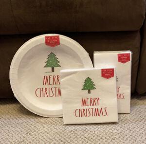 Rae Dunn Christmas Plates Bundle