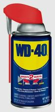 8 oz WD-40 Multi-Purpose Lubricant w/ Smart Straw - Spray Two Ways NEW 490026