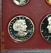 1980 S Sba Susan B Anthony Proof from Mint Set