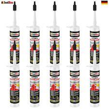 Bitumenkleber 10 x 310 ml Dichtstoff Dachdicht Bitumen Dichtmasse Schindelkleber
