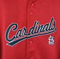 St Louis Cardinals Albert Pujols 5 Youth XL Red True Fan Baseball Jersey