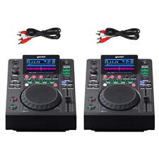 2 x Gemini MDJ-500 USB MP3 Media Player DJ Logiciel Contrôleur 24-bit carte son