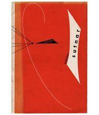1947 Ladislav Sutnar + A/D Gallery DESIGN EXHIBITION Czech Graphic 16-pg Catalog