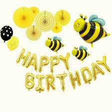 Cute Cartoon Insect Bee Shape Balloon Baby Shower Birthday Party Decoration Gift