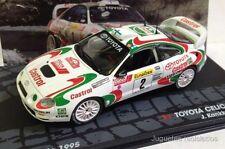 1/43 TOYOTA CELICA GT FOUR KANKKUNEN RALLY MONTECARLO 1995 IXO EAGLEMOSS DIECAST