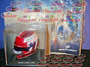 Charles Leclerc F1 Casco Capacete Helm Casque Helmet 2020 Formula 1 Spark 1/5