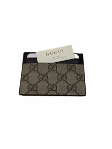 Gucci Wallet GG Card Holder - Brown